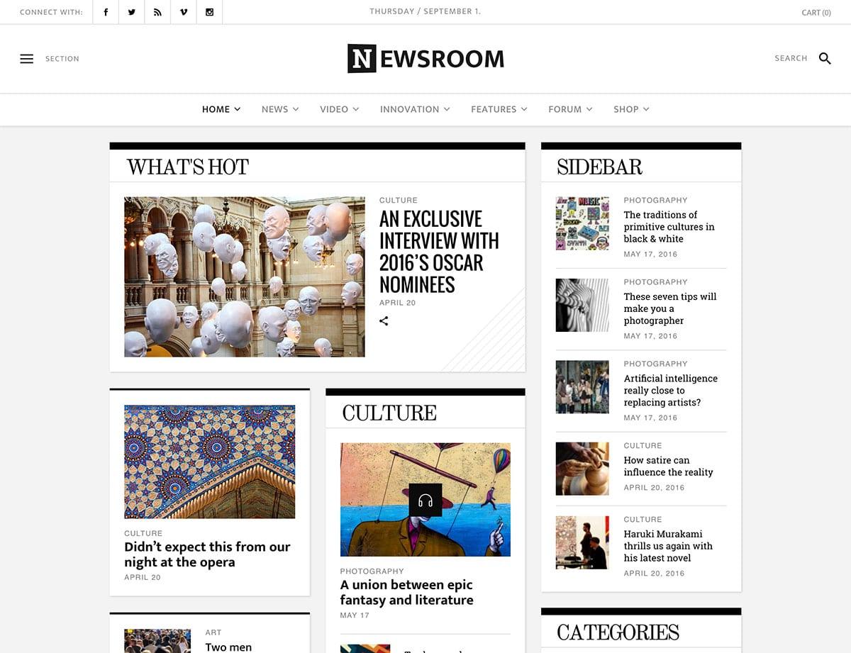 newsroom-magazine-theme