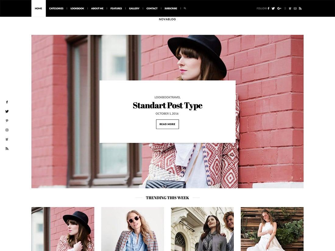 30 Best Fashion Blog Magazine Wordpress Themes 2020 Athemes
