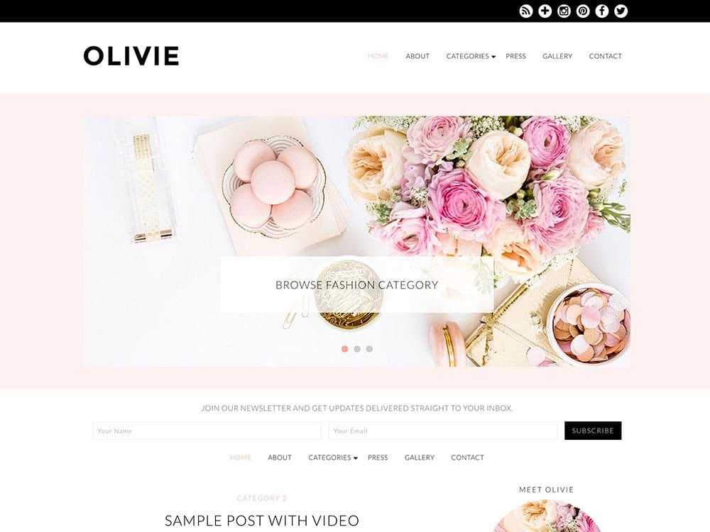 olivie-theme