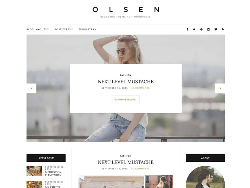 olsen-blogging-theme-for-wordpress