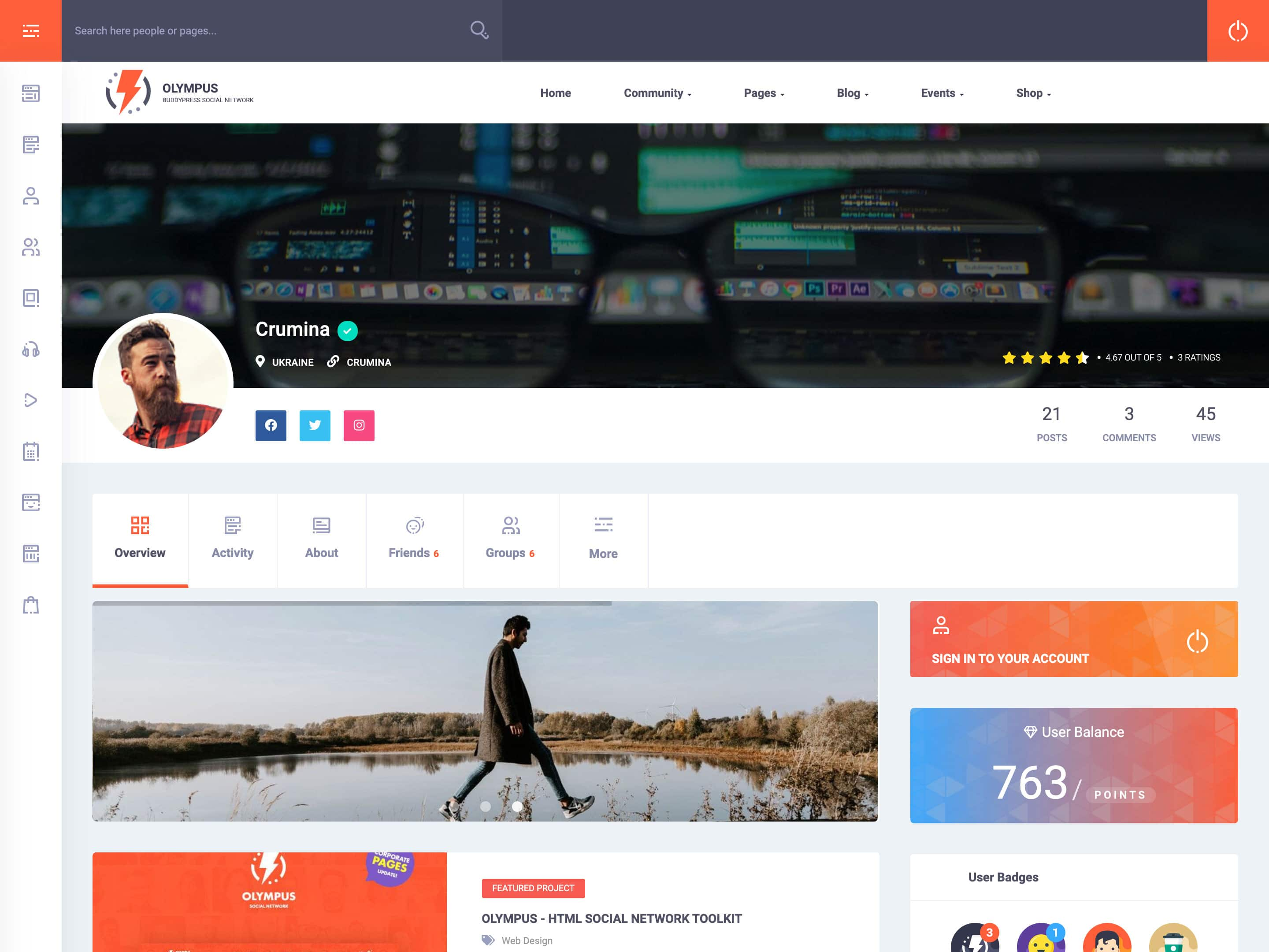 23+ Best BuddyPress WordPress Themes 23 - aThemes Intended For Which One Is Better Free Templates Versus Premium Templates