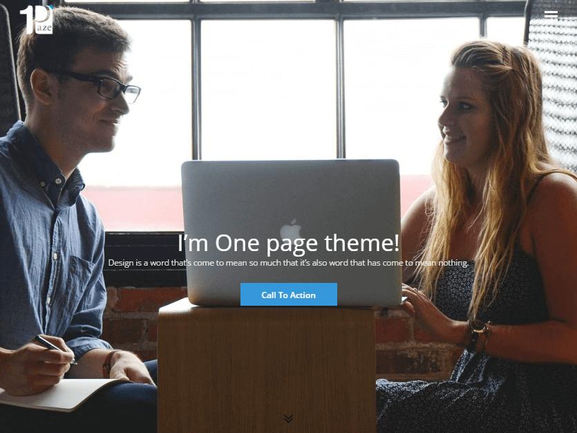 one paze wordpress theme (1)