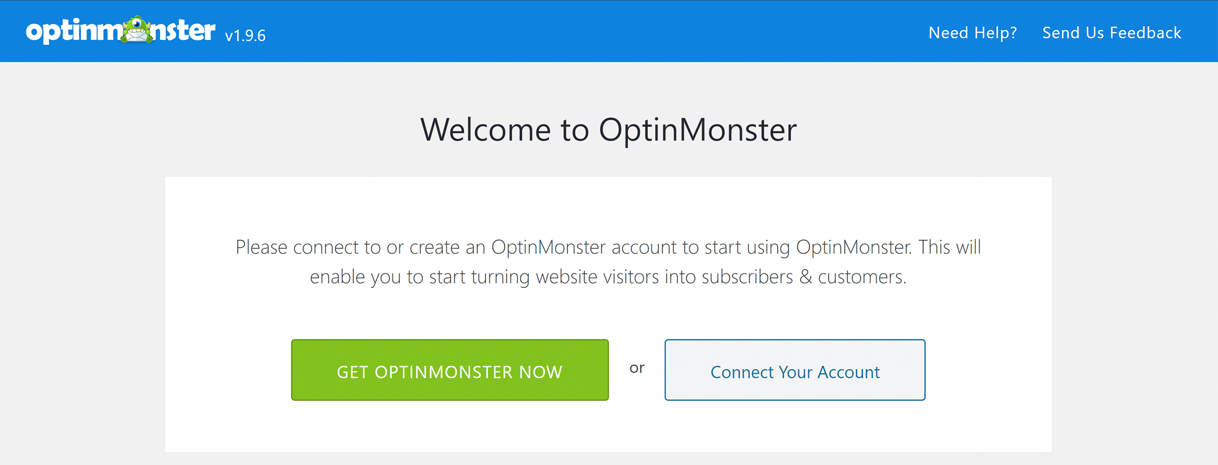 Connect OptinMonster