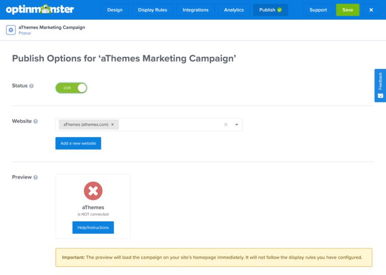 Assign Your Website