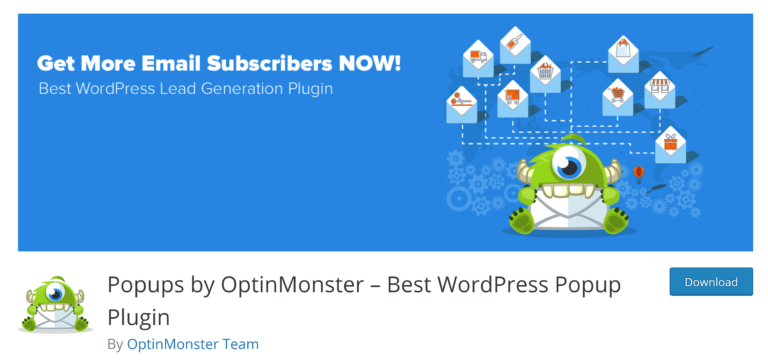 The Free Version of OptinMonster