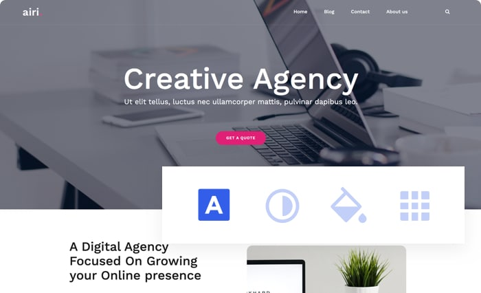 Airi WordPress Theme - aThemes