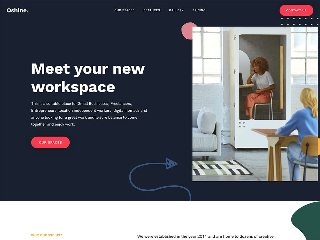 5 Best Coworking Space Wordpress Themes 2021 Athemes