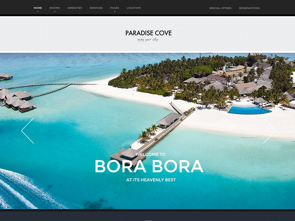 paradise-cove-hotel-wordpress-theme