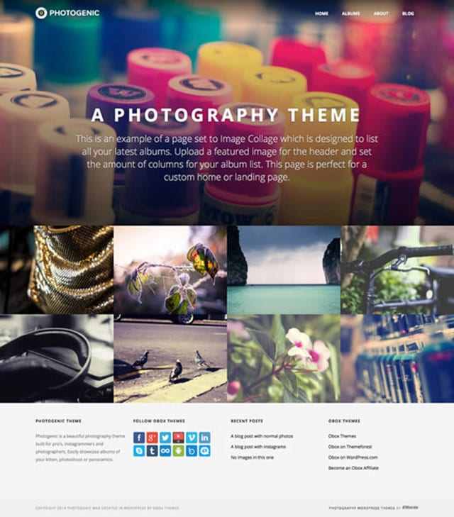 Themes Pictures For Instagram an Instagram-style Theme