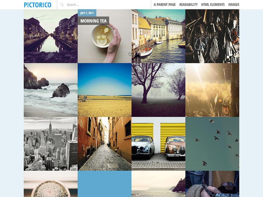 free wordpress theme for photography portfolio