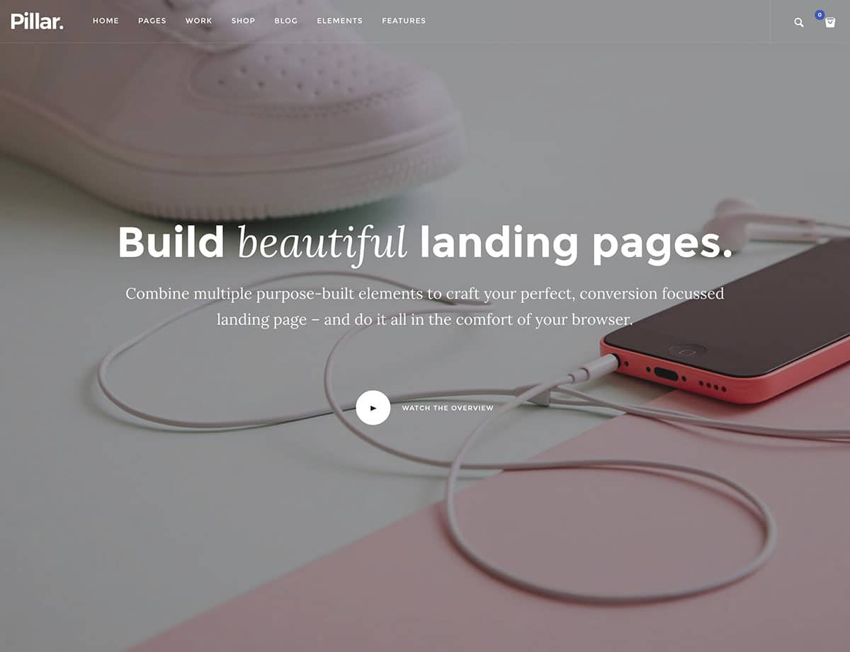 pillar-product-landing-page-theme