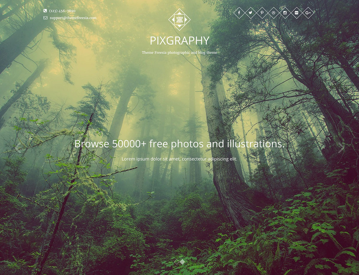 pixgraphy-free-photography-wordpress-theme