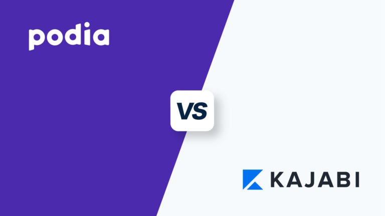 Podia vs Kajabi, featured image