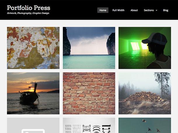 portfolio-press-theme