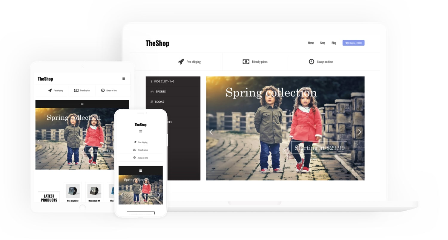 THESHOP - FREE WooCommerce Theme