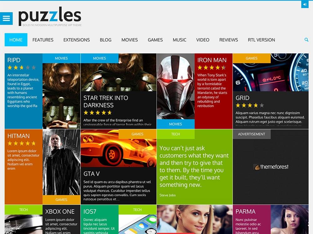puzzles-magazine-theme