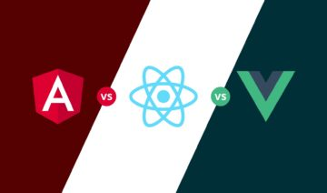 React vs Vue vs Angular, featured image