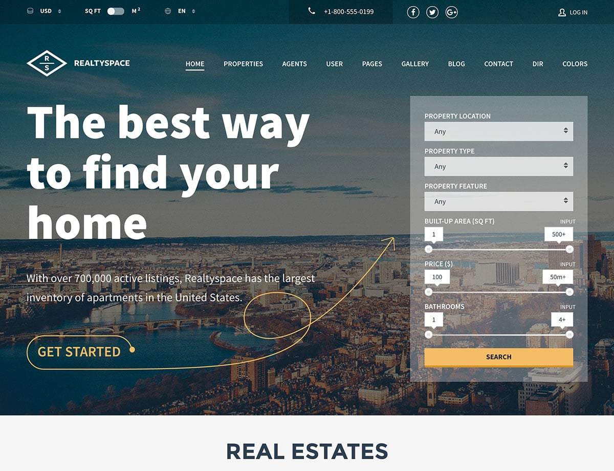 realtyspace-wordpress-theme