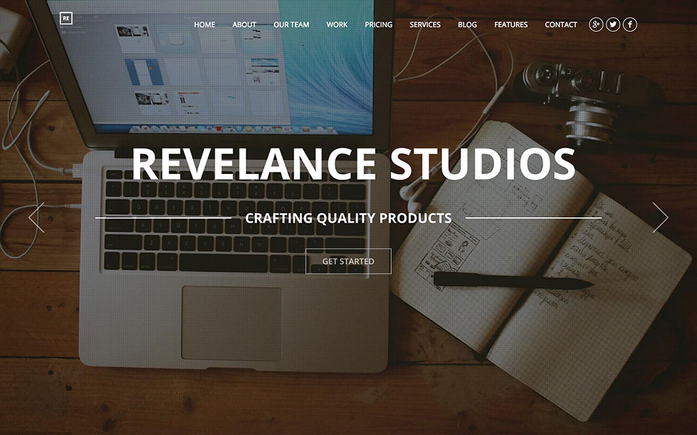 relevance-business-parallax-theme
