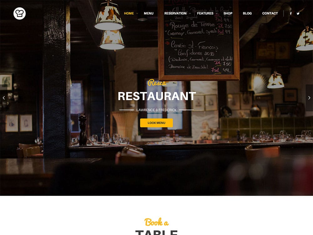 resca-wordpress-restaurant-theme