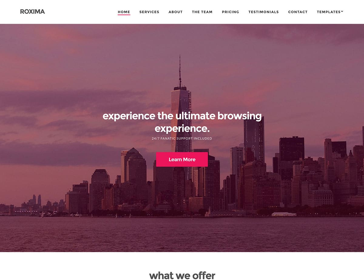 roxima-business-wordpress-theme