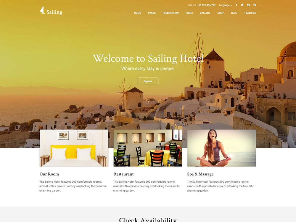 sailing-hotel-wordpress-theme