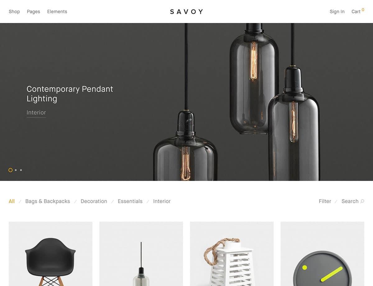 savoy-minimalist-woocommerce-theme