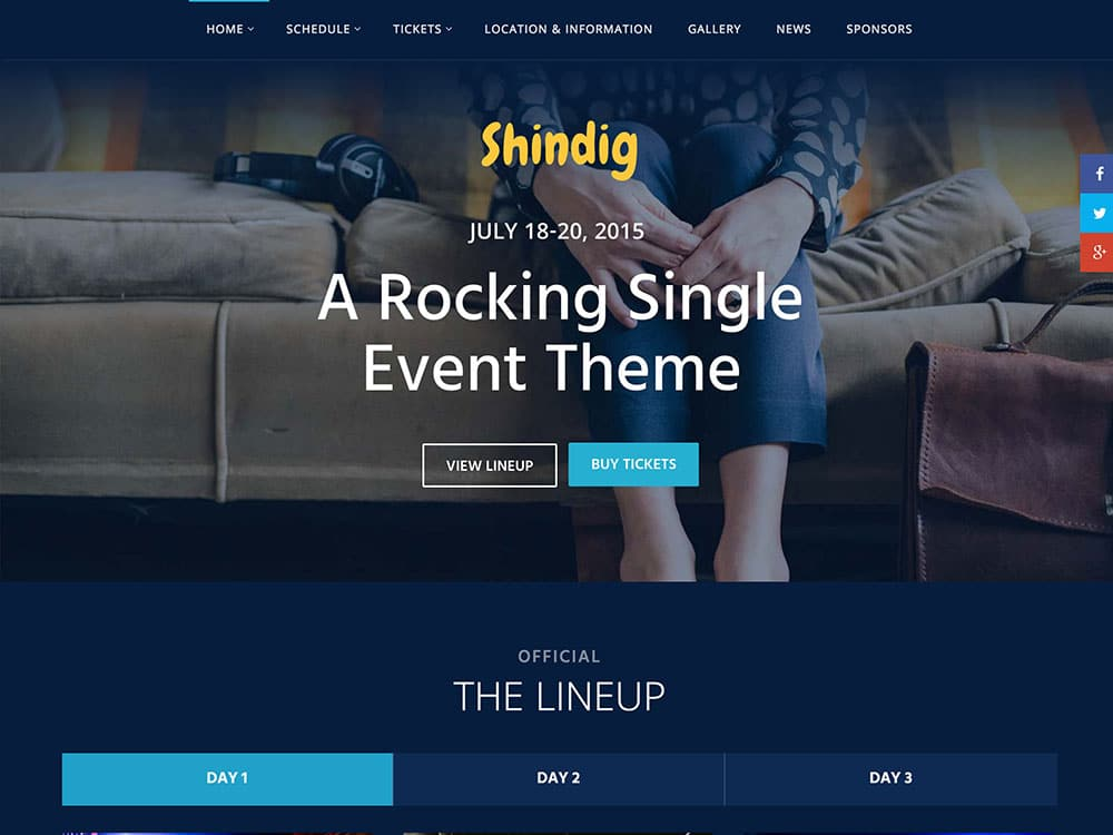 shindig-single-event-theme