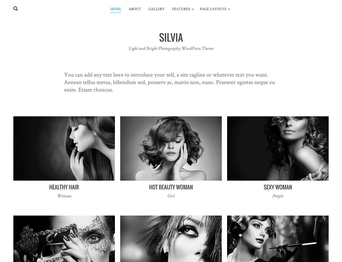 silvia-free-wordpress-photography-theme