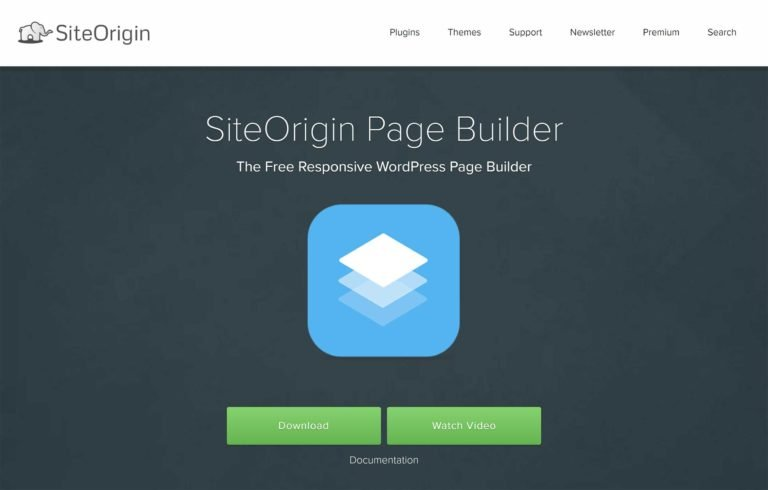 Page Builder by SiteOrigin