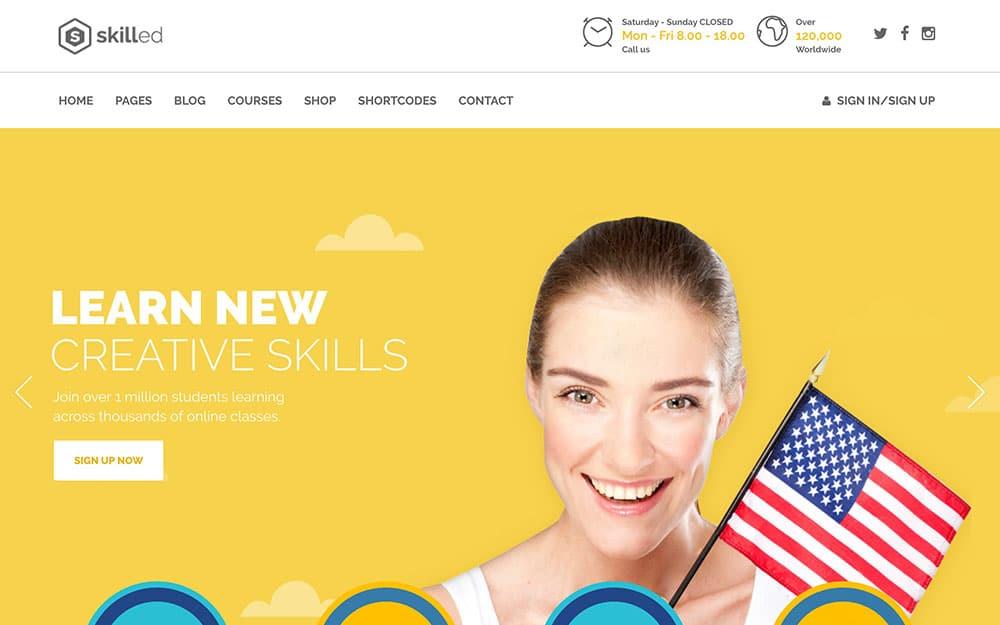 skilled-wordpress-education-theme