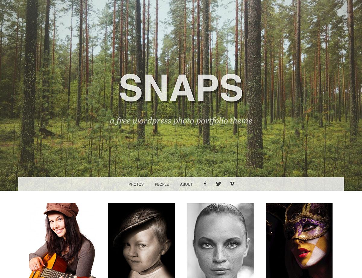 snaps-free-wordpress-portfolio-theme