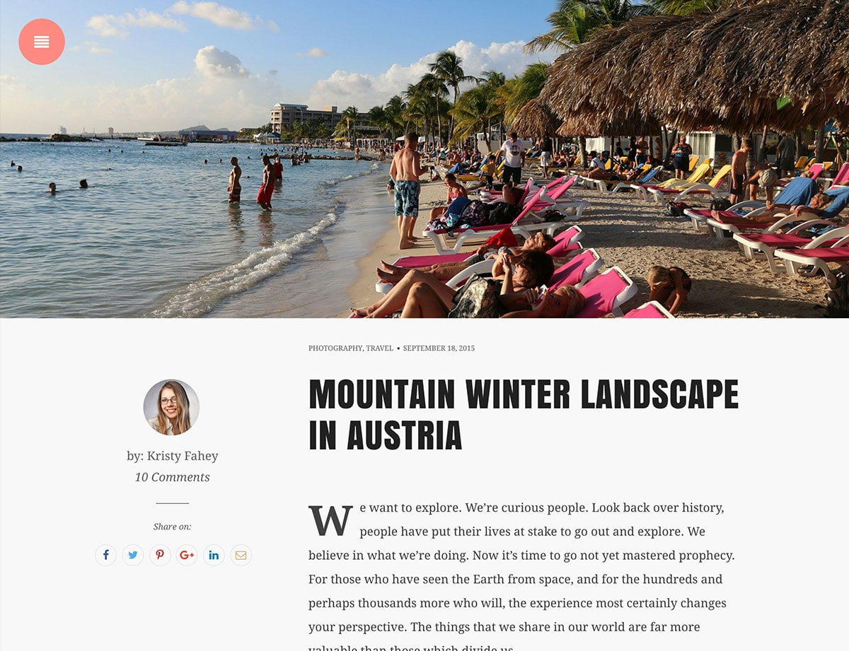 snowbird-wordpress-blog-theme