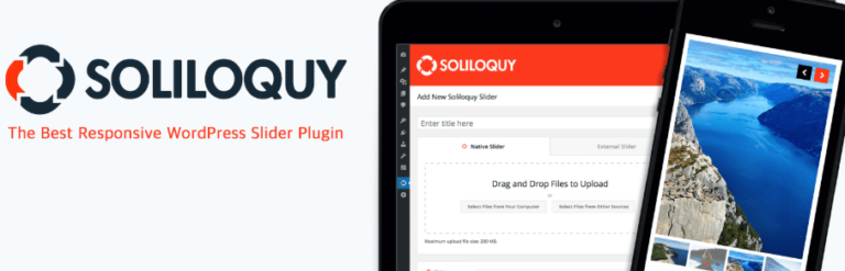 Soliloquy WordPress slider