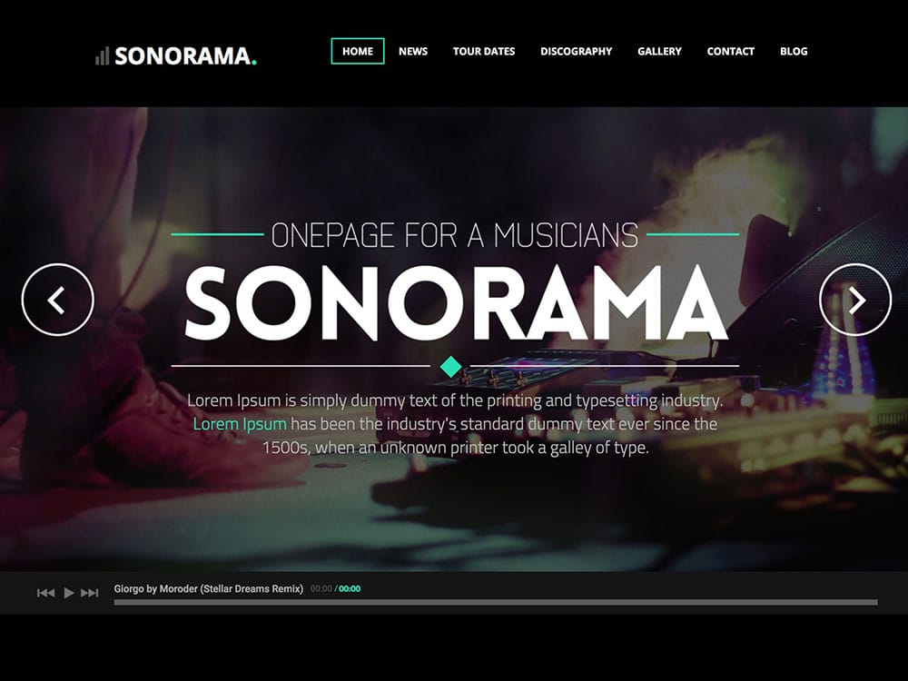 sonorama-music-theme