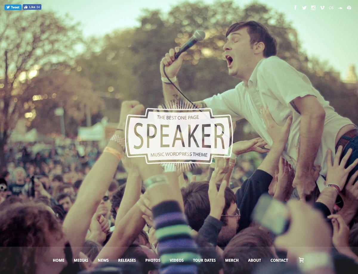 speaker-one-page-music-wordpress-theme