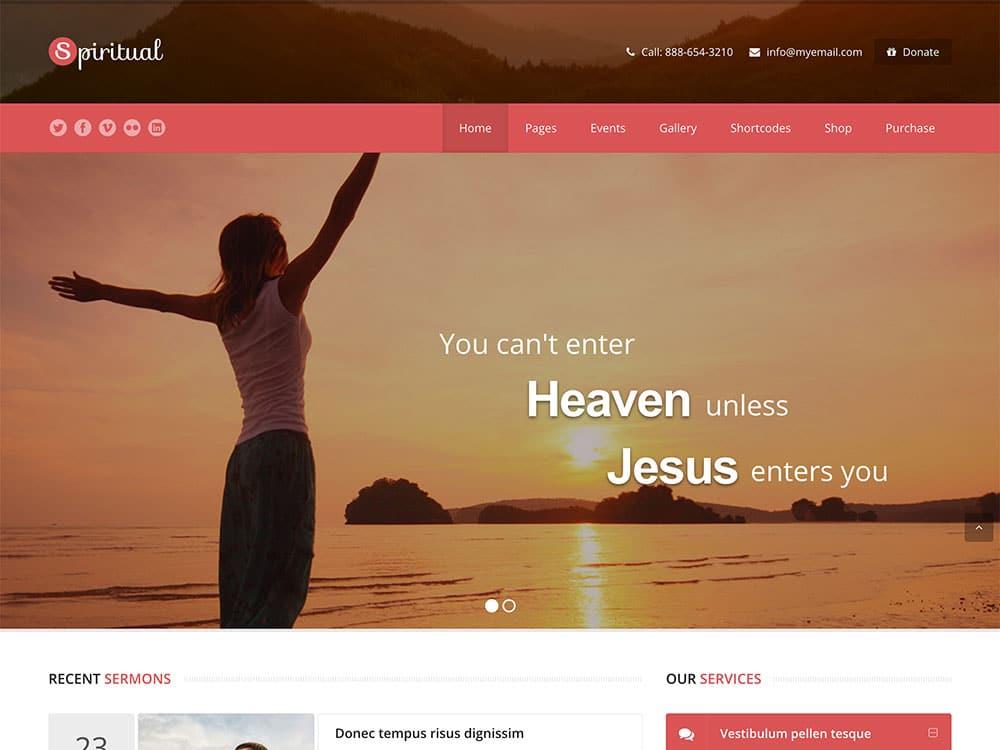 spiritual-church-wp-theme