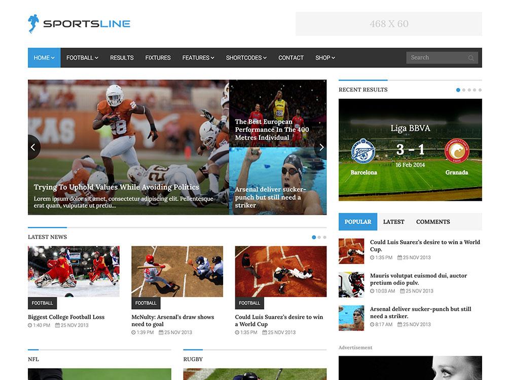 sportsline-news-theme