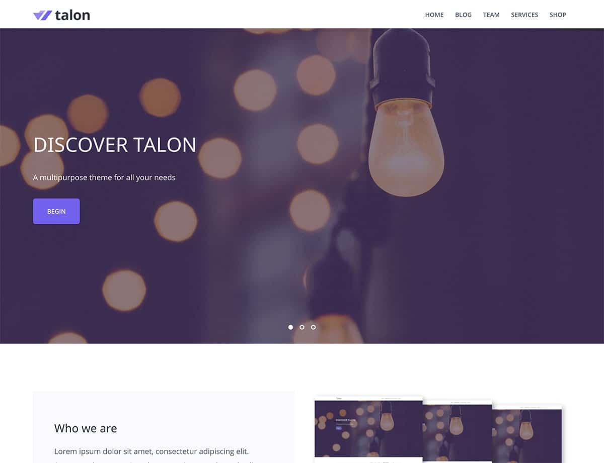 talon-wordpress-theme