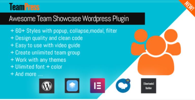 TeamPress plugin