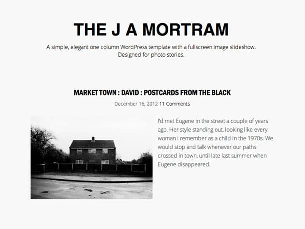 the-j-a-mortram-theme
