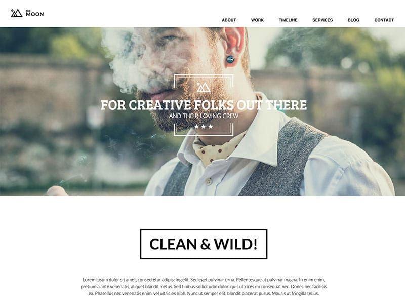 the-moon-one-page-wordpress-theme