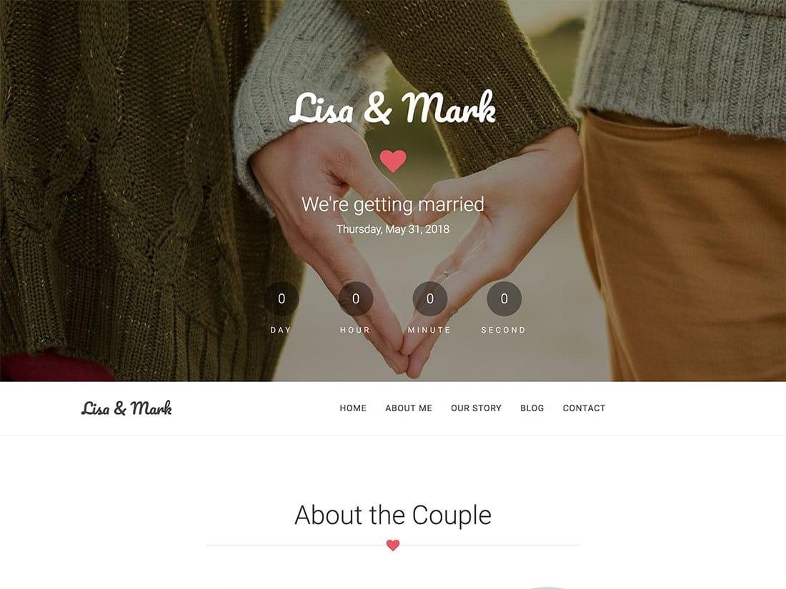 10 Free WordPress Wedding Themes 2020 Athemes