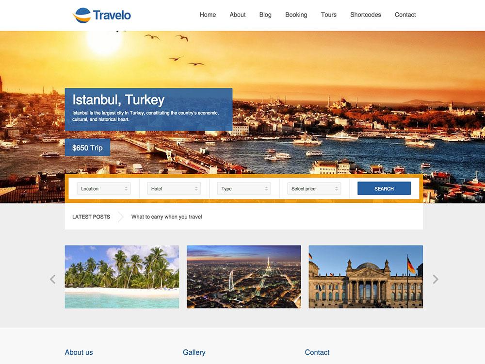 Travel Tour Tour Booking Travel WordPress Theme