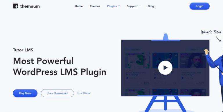 Tutor LMS plugin