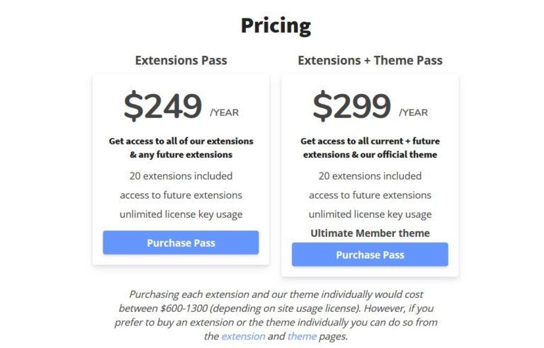 Ultimate Member Pricing
