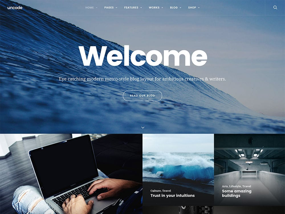 uncode-multipurpose-blog-metro-theme