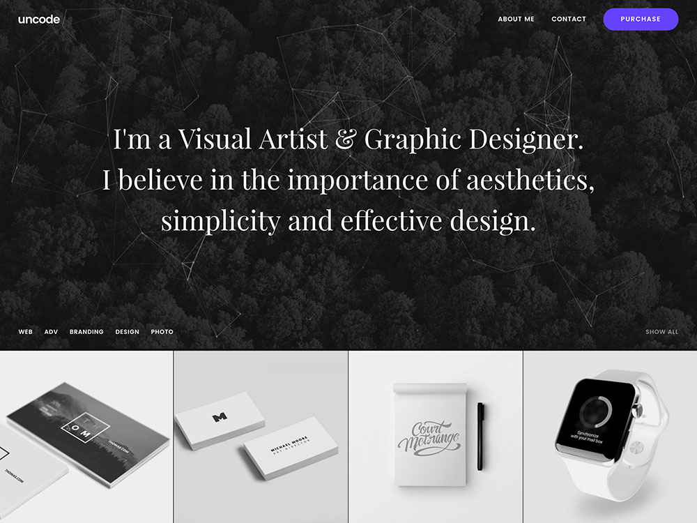 uncode-portfolio-theme-for-artists