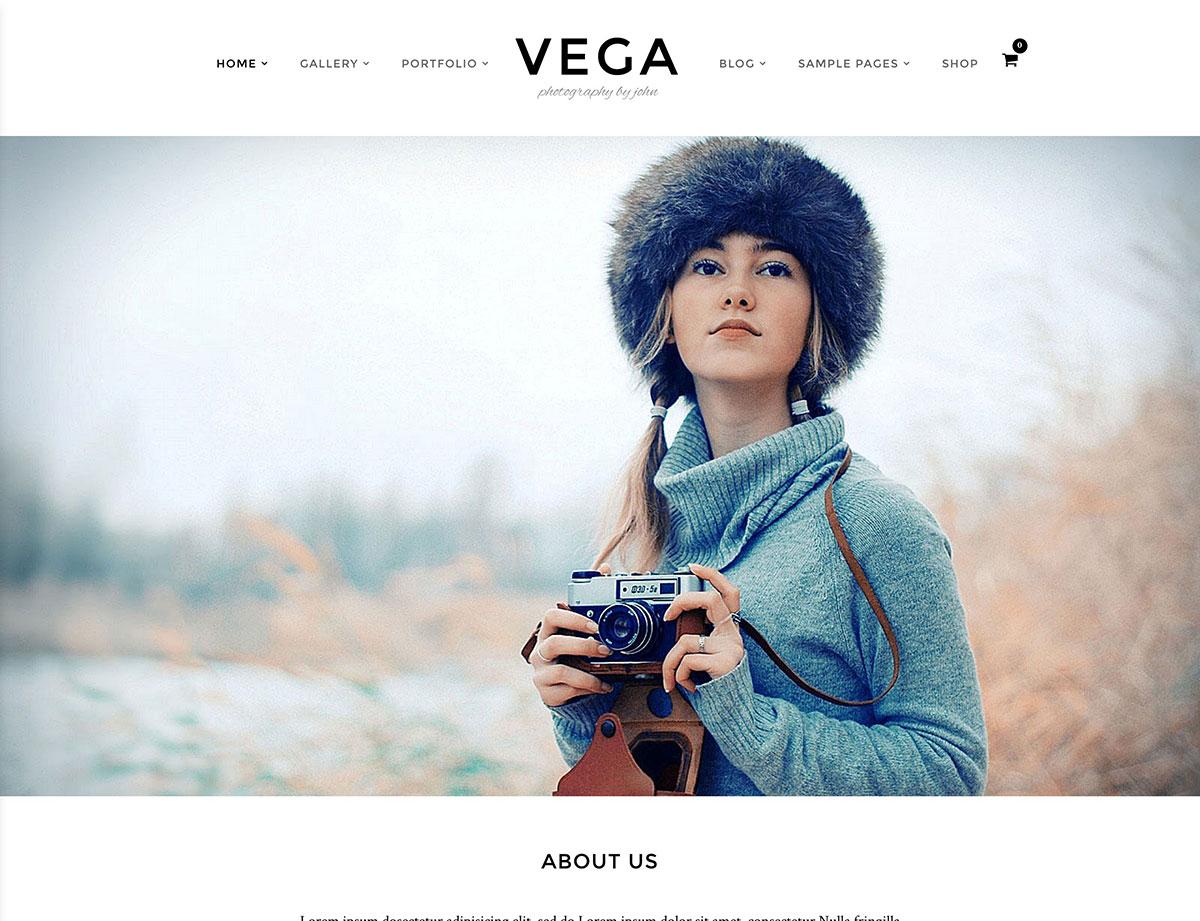vega-photography-theme