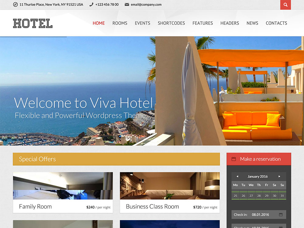 The Best Hotel Websites Bootstrap